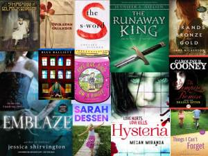 Fiction Titles for Spring 2013
