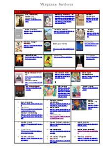 Virginia Authors 2014